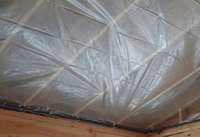 Temporary Ceiling Barrier